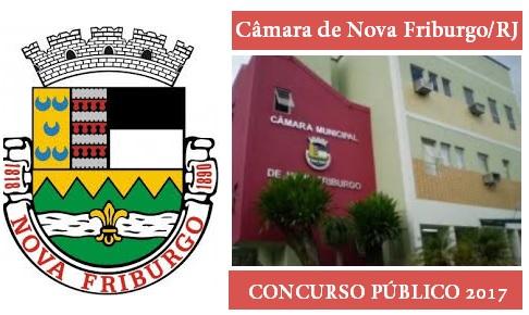 Apostila Câmara de Nova Friburgo Concurso Público 2017