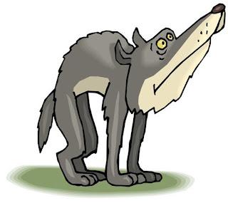 Волк из сказки фото