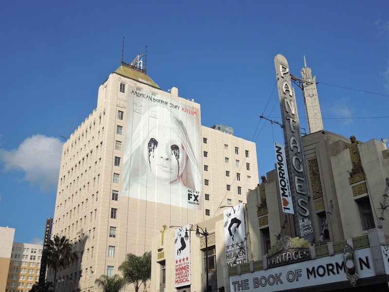 American Horror Story Asylum billboard Hollywood