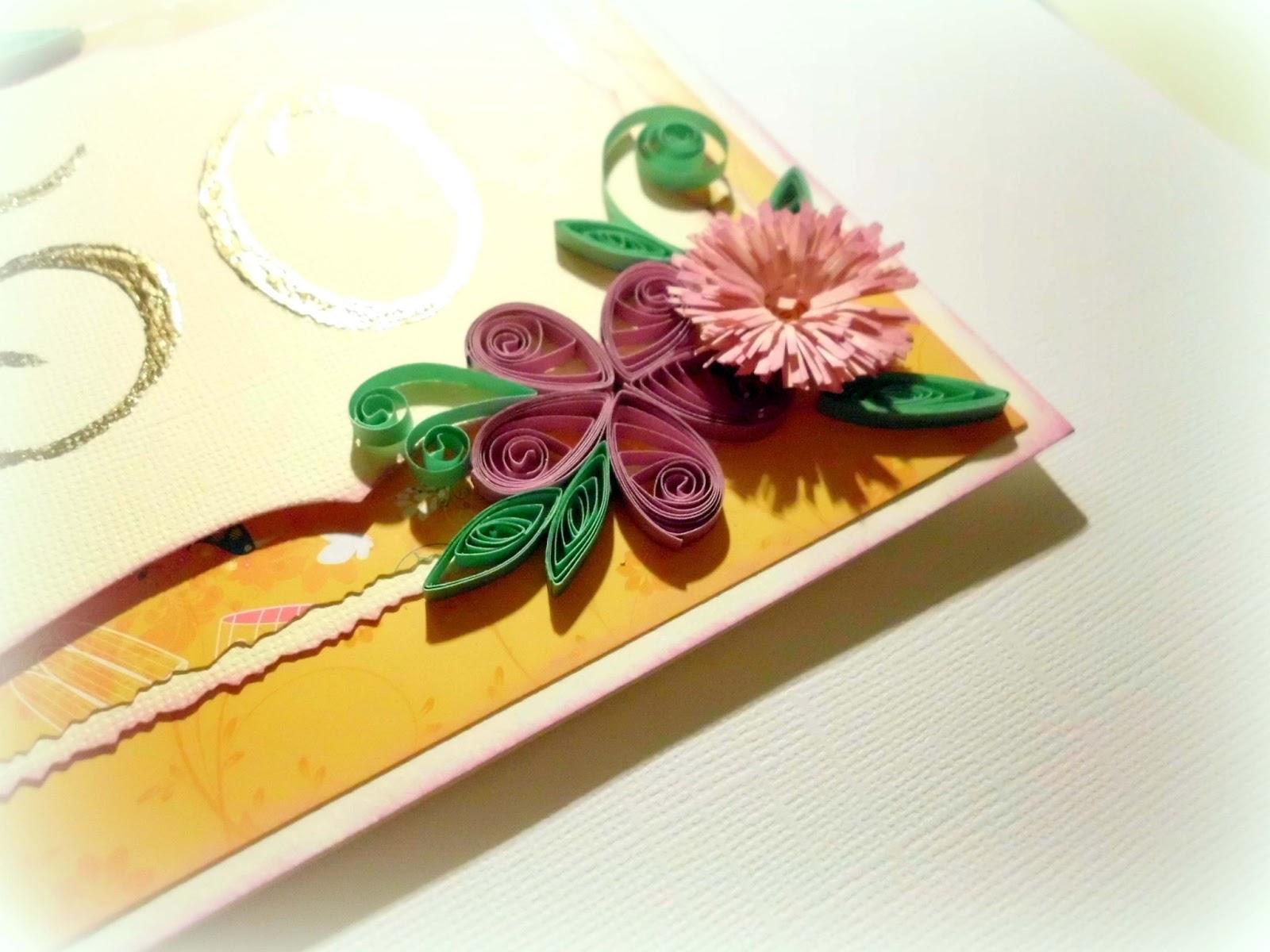 Crafts By Mirka Happy Birthday Mom Quilling