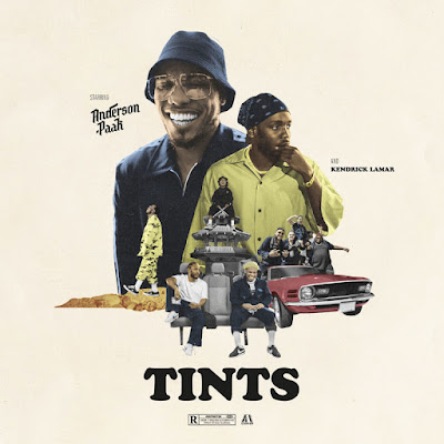 Single: Anderson. Paak feat. Kendrick Lamar - Tints [2018]