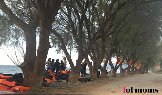 Refugees hot spot in Lesvos