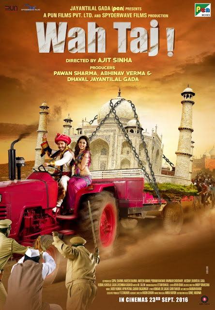 Wah Taj, Movie Poster, Shreyas Talpade, Movie Review