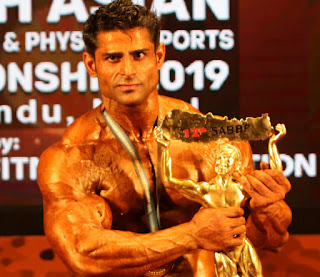 Ravinder Malik won Mr. South Asia Title