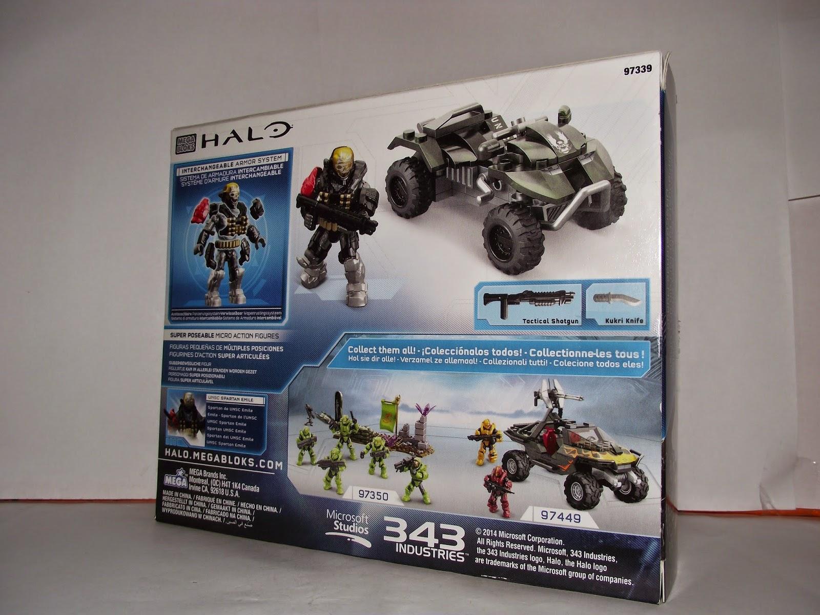 Go Figure!: Halo Mega Bloks 97339 UNSC All-Terain Mongoose