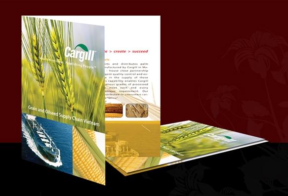 Thiết kế kẹp file công ty đẹp - In kẹp file tài liệu giá rẻ, chuyên nghiệp tại Hà Nội Cargill