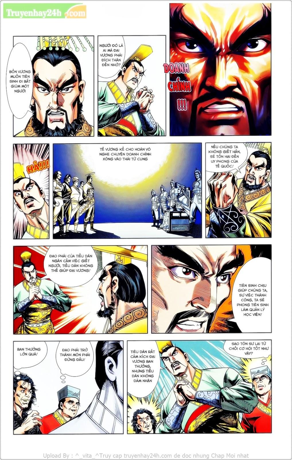 Tần Vương Doanh Chính chapter 23 trang 10