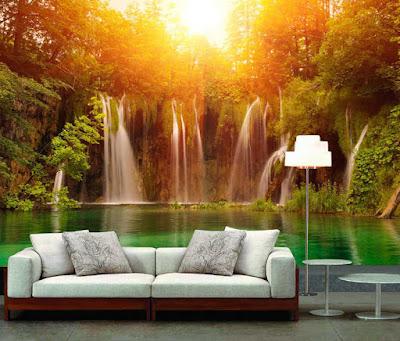 Foundation dezin decor living room unique designs for 3d wallpaper for home india