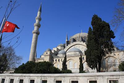 Sülemaniye mosque in Istanbul