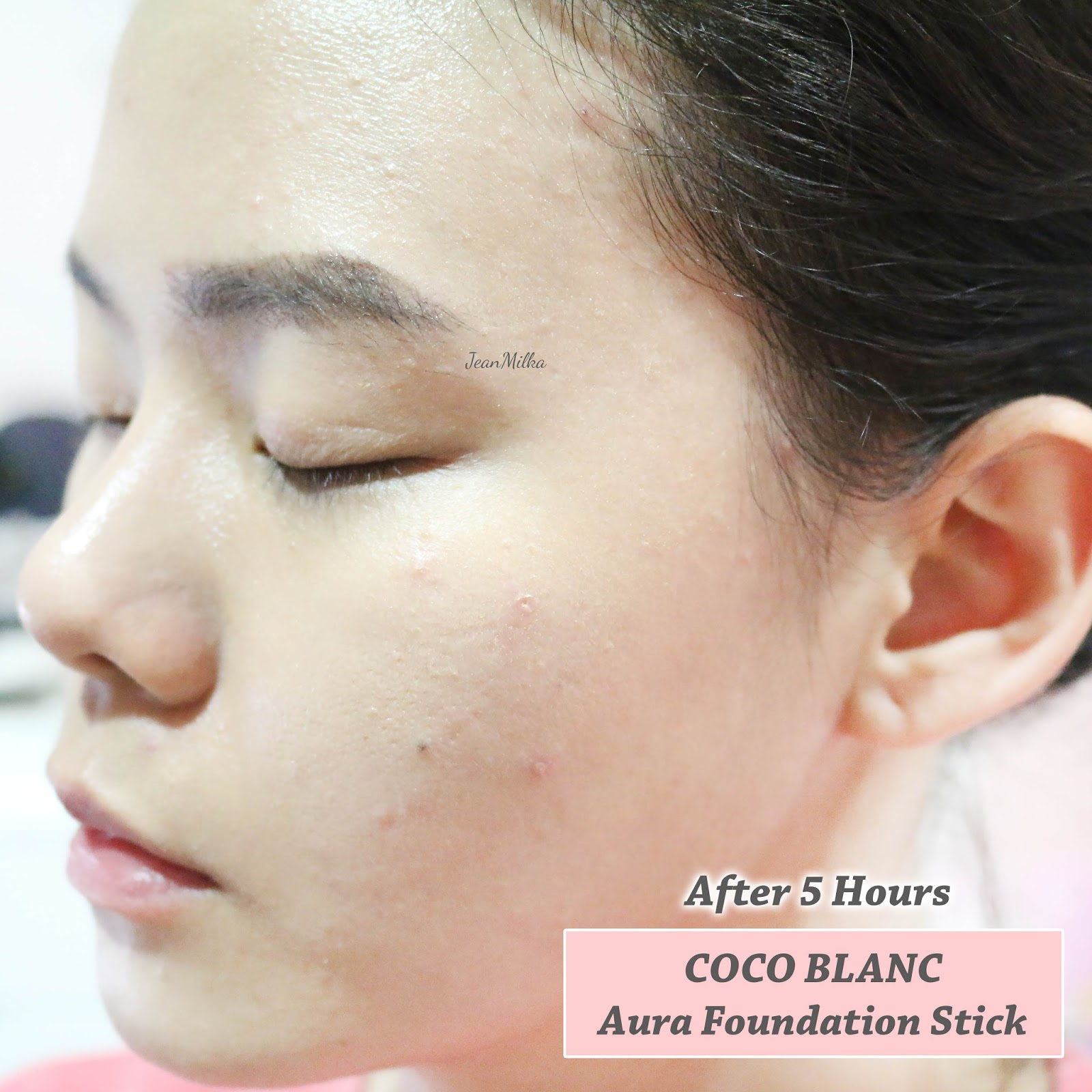 coco blanc, coco blanc stick foundation, stick foundation, korean, korean makeup, korean beauty, review, indonesia, foundation, makeup