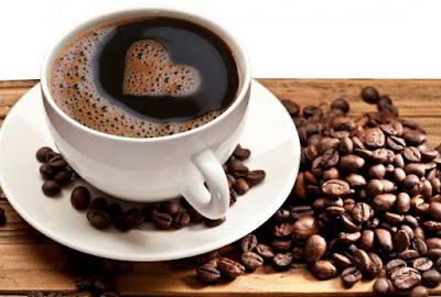 minum secawan kopi