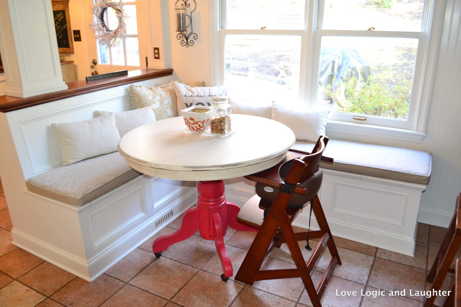 Repurposing and Building A Kitchen Table - DIY Square ...