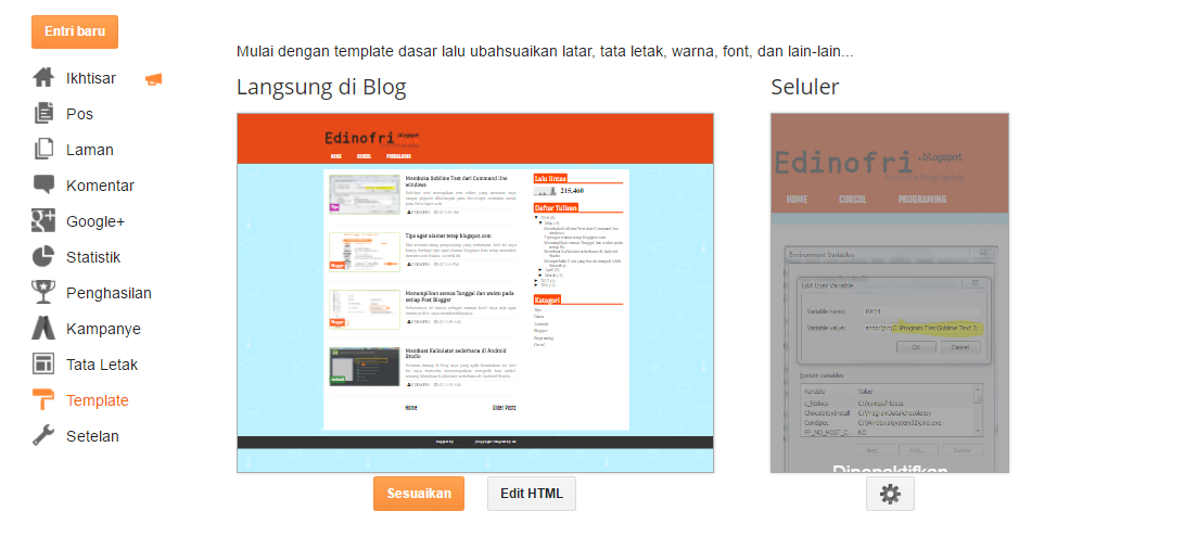 Warnai Actionbar Chrome Mobile pada Web mu dengan meta tag