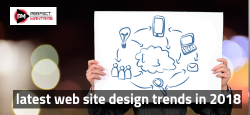 latest web site design trends in 2018