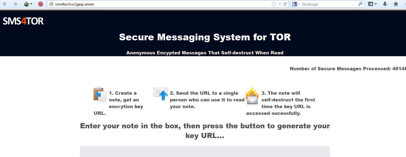 Deep Web: Mensagens via Tor