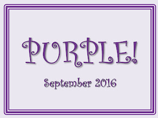 Berkhamsted Creative Challenge Sept 16 - Purple