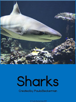 https://www.teacherspayteachers.com/Product/Sharks-Guided-Reading-Books-3247361