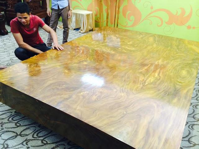Mẫu sập gỗ quý đẹp nhất Việt Nam của đại gia Hà Nội
