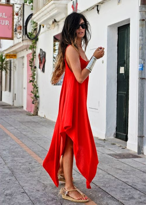 Fashion Update : Lady In Red