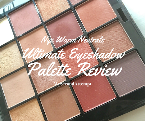 NYX Warm Neutrals Ultimate Eyeshadow Palette- Review