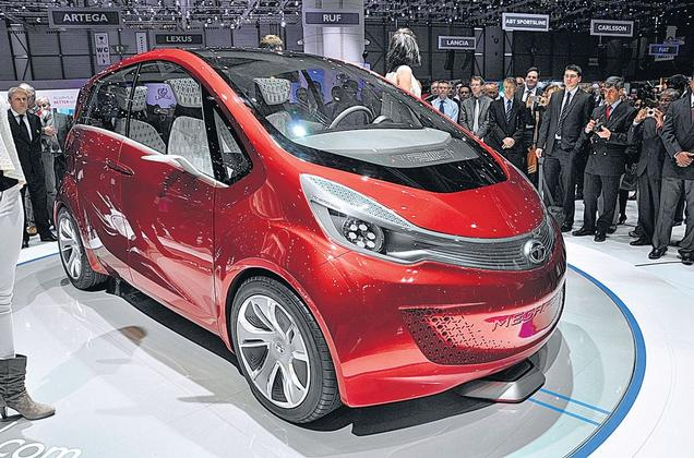 U Love It All Tata Megapixel A New Global Car Concept