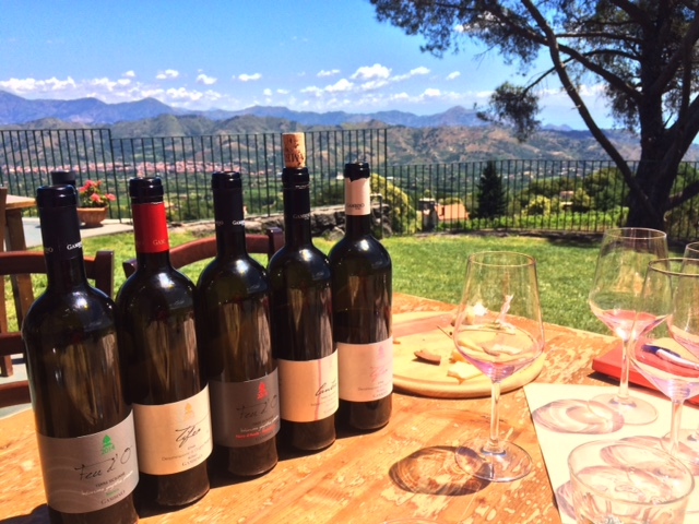 Vinícola Gambino Winery em Taormina