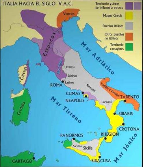 LOS DADOS DE PALAMEDES: Pueblos Italia y mapa físico
