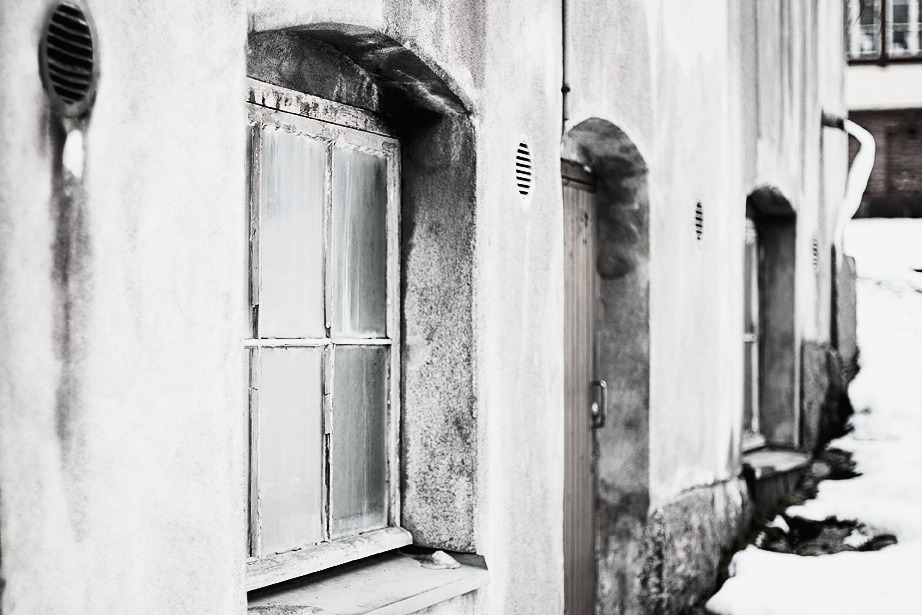 Valokuvaus, talvi, Helsinki, pääkaupunkiseutu, valokuvaaminen, Frida Steiner, Frida S Visuals, vanha rakennus, rakennus, Hanasaari