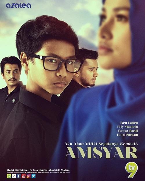 Sinopsis drama Amsyar TV9 & TV3, pelakon dan gambar drama Amsyar TV9 & TV3, Amsyar episod akhir – episod 20