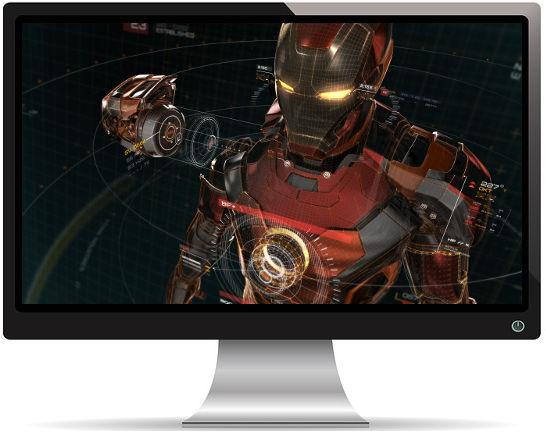 Iron Man Artwork - Fond d'Écran en Quad HD