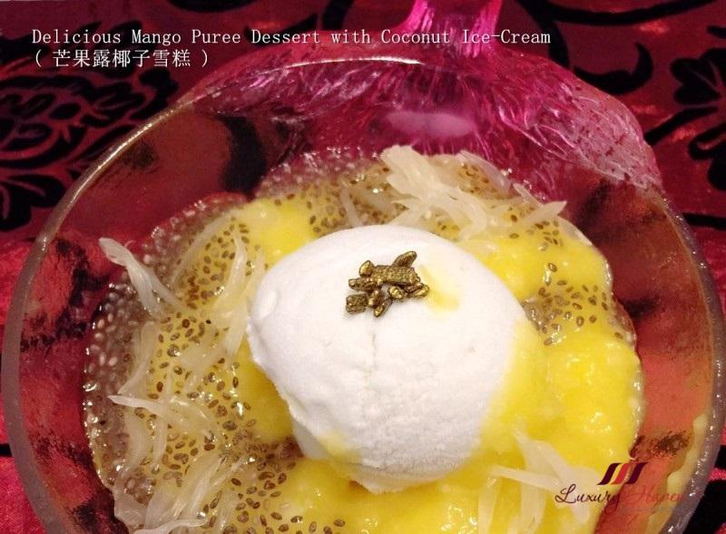 singapore food-blog mango puree coconut ice cream