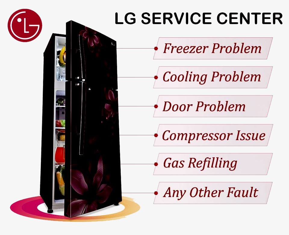LG Refrigerator Service Center in Faridabad | 24x7 Home