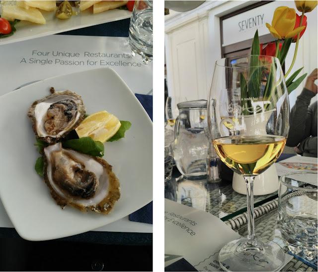 oyster bar restaurant split croatie été vacances 2017, huitre, sushis