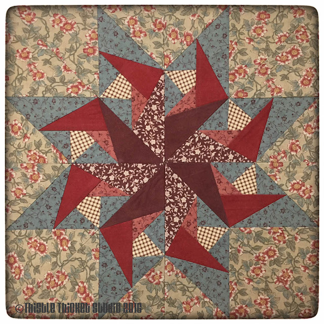 Thistle Thicket Studio, paper piecing, star block, medallion quilts, quilt guild challenge