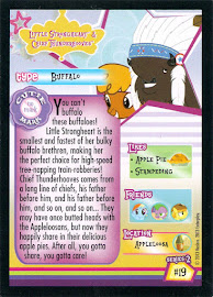 MLP Little Strongheart & Chief Thunderhooves Series 2 Trading Card