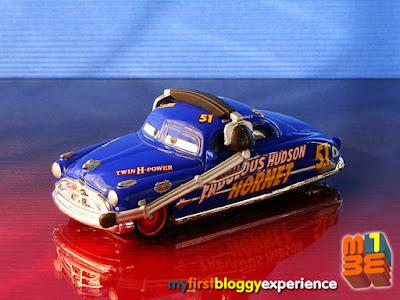 Film- & TV-Spielzeug Disney Cars RACE DAMAGED DOC HUDSON HORNET *CUSTOM MADE* Mattel 1:55