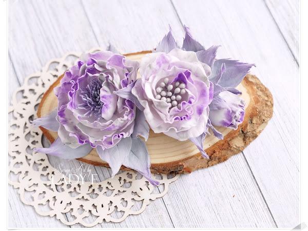 Foamiran Flowers Love