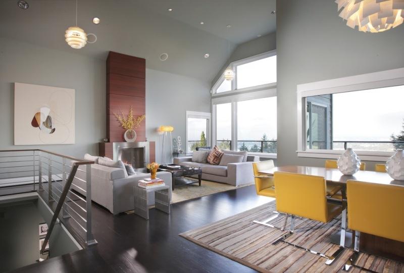 design : wohnzimmer farblich gestalten grau ~ inspirierende bilder ...