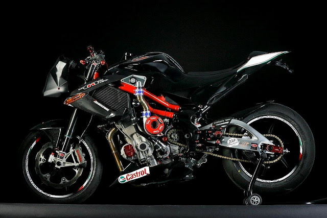 Supercharged Benelli TNT
