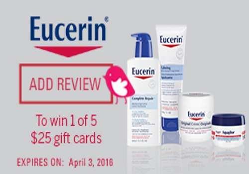 Chickadvisor Eucerin Review Challenge Contest
