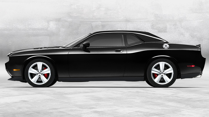 World Of Cars: Dodge Challenger Black