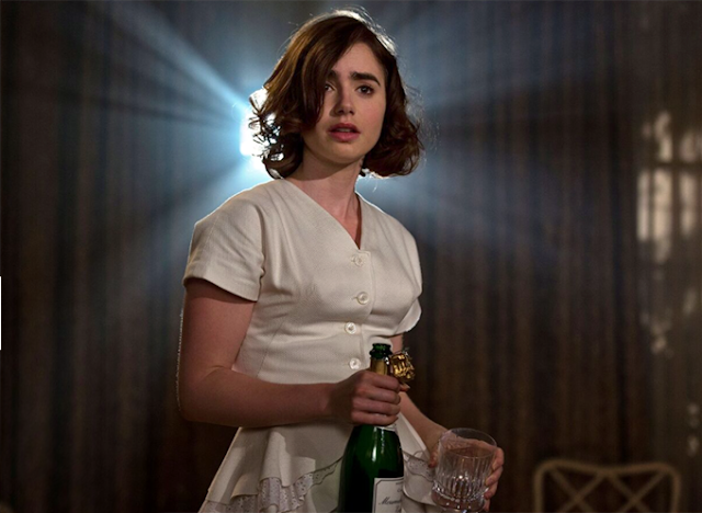 lily collins costume