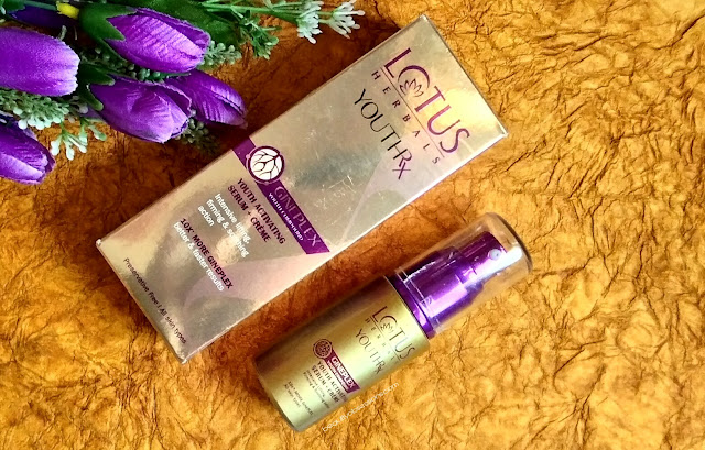 Lotus Herbals YOUTHRx Youth Activating Serum + Crème - Review