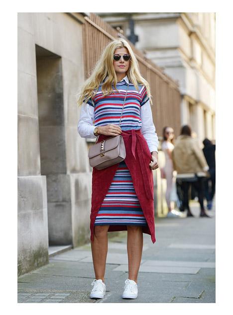 Многослойный комплект рубашка + юбка + платье