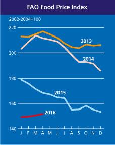 Palm Oil Keeps Global Food Price Trending in April