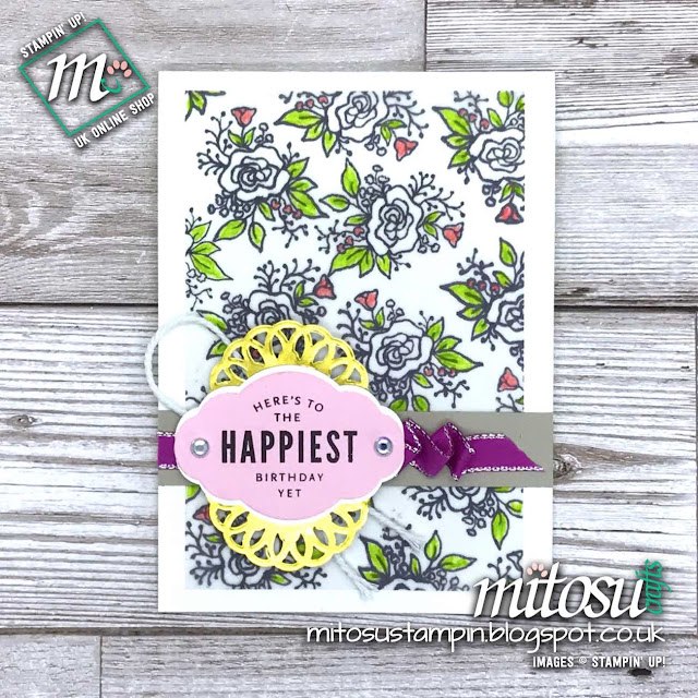 Stampin' Up! Lots of Happy order from Mitosu Crafts UK Online Shop
