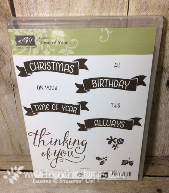 Time of year Stamp set. Stampin'Up!