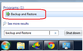 Create System Image Backup In Windows 7
