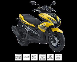 Yamaha Aerox VVA - Harga Motor Yamaha Aerox Vva