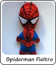 Spideman en fieltro